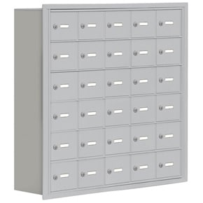 Salsbury 19068-30 Phone Locker Aluminum