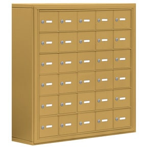 Salsbury 19068-30 Phone Locker Gold