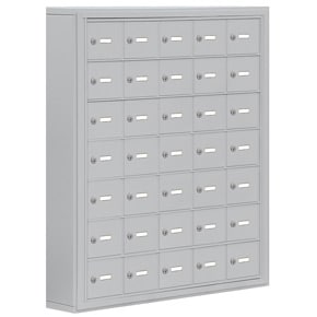 Salsbury 19075-35 Phone Locker Aluminum