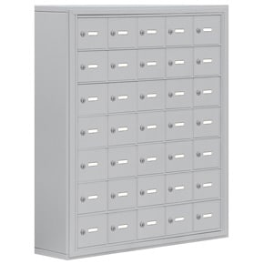 Salsbury 19078-35 Phone Locker Aluminum