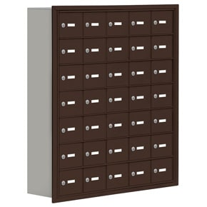 Salsbury 19078-35 Phone Locker Bronze