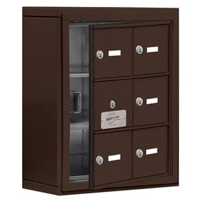 Salsbury 19135-06 Phone Locker Bronze