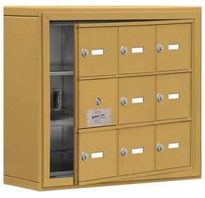 Salsbury 19135-09 Phone Locker Gold