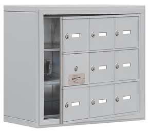 Salsbury 19138-09 Phone Locker Aluminum