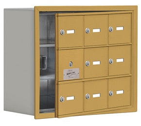 Salsbury 19138-09 Phone Locker Gold