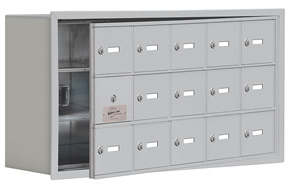 Salsbury 19138-15 Phone Locker Aluminum
