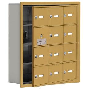 Salsbury 19145-12 Phone Locker Gold