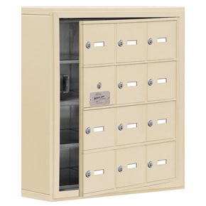 Salsbury 19145-12 Phone Locker Sandstone