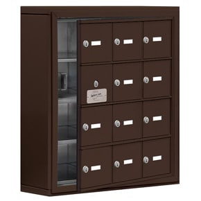 Salsbury 19145-12 Phone Locker Bronze
