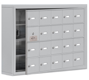 Salsbury 19145-20 Phone Locker Aluminum
