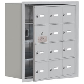 Salsbury 19148-12 Phone Locker Aluminum