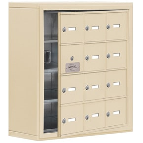 Salsbury 19148-12 Phone Locker Sandstone