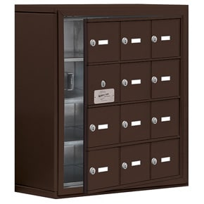 Salsbury 19148-12 Phone Locker Bronze