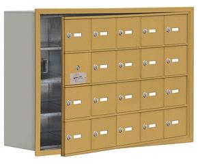 Salsbury 19148-20 Phone Locker Gold