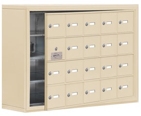 Salsbury 19148-20 Phone Locker Sandstone