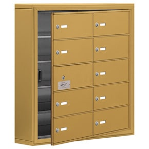 Salsbury 19155-10 Phone Locker Gold