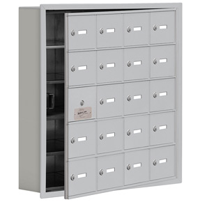 Salsbury 19155-20 Phone Locker Aluminum
