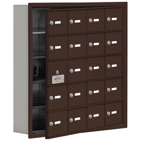 Salsbury 19155-20 Phone Locker Bronze