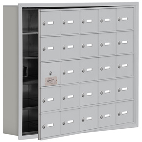 Salsbury 19155-25 Phone Locker Aluminum
