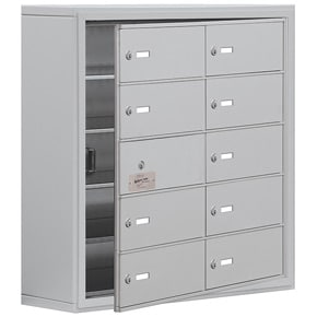 Salsbury 19158-10 Phone Locker Aluminum