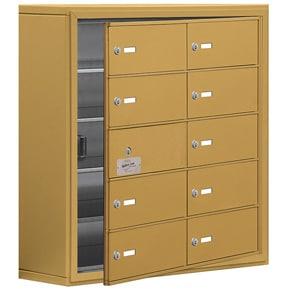 Salsbury 19158-10 Phone Locker Gold