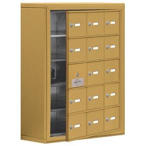 Salsbury 19158-15 Phone Locker Gold