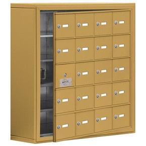 Salsbury 19158-20 Phone Locker Gold