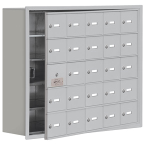 Salsbury 19158-25 Phone Locker Aluminum