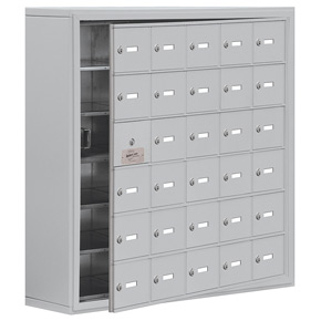 Salsbury 19168-30 Phone Locker Aluminum