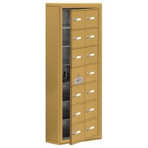 Salsbury 19175-14 Phone Locker Gold