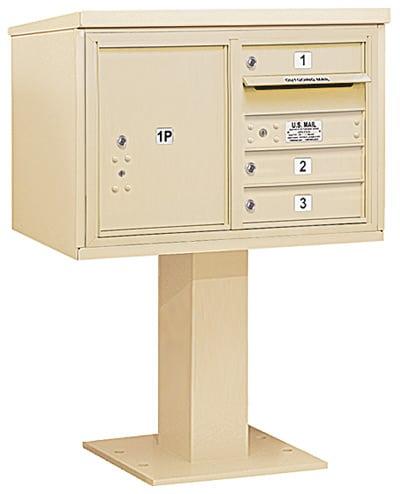 3405D03 Salsbury Commercial 4C Pedestal Mailboxes