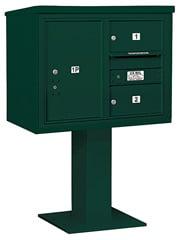 Salsbury 4C Pedestal 3406D-02 Green