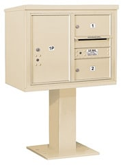 Salsbury 4C Pedestal 3406D-02 Sandstone