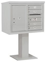 Salsbury 4C Pedestal 3406D-04 Gray