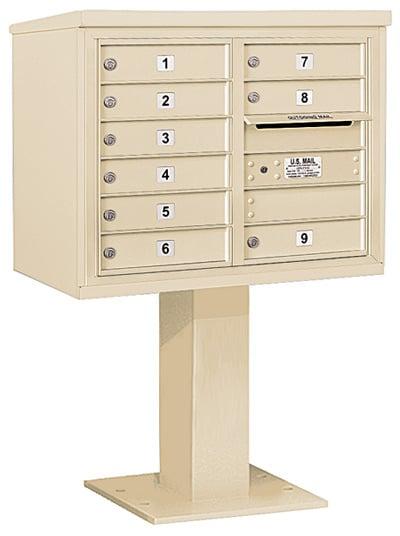 3406D09 Salsbury Commercial 4C Pedestal Mailboxes