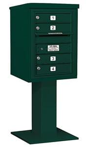 Salsbury 4C Pedestal 3406S-04 Green
