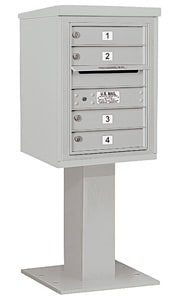 Salsbury 4C Pedestal 3406S-04 Gray
