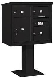 Salsbury 4C Pedestal 3407D-03 Black