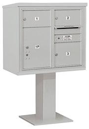 Salsbury 4C Pedestal 3407D-03 Gray