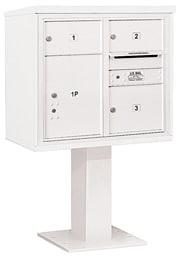 Salsbury 4C Pedestal 3407D-03 White
