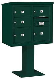 Salsbury 4C Pedestal 3407D-05 Green