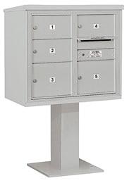 Salsbury 4C Pedestal 3407D-05 Gray