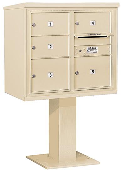 3407D05 Salsbury Commercial 4C Pedestal Mailboxes