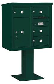 Salsbury 4C Pedestal 3408D-04 Green