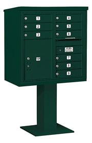 Salsbury 4C Pedestal 3408D-09 Green