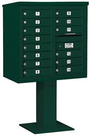 Salsbury 4C Pedestal 3408D-14 Green