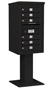 Salsbury 4C Pedestal 3408S-06 Black
