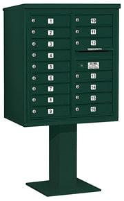 Salsbury 4C Pedestal 3409D-16 Green