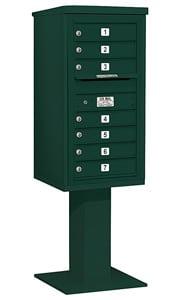 Salsbury 4C Pedestal 3409S-07 Green