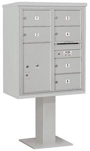 Salsbury 4C Pedestal 3410D-06 Gray